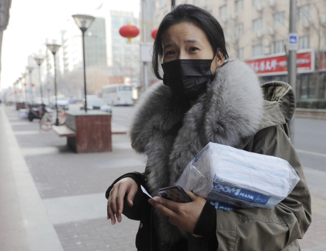 新型肺炎、止まらぬ不安心理 マスク不足が拍車 中国