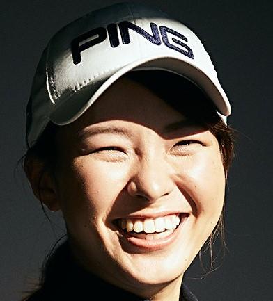 『渋野日向子』が笑うと周りも笑う。「変顔!」からの、最高の表情。